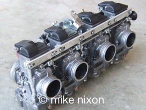 Thumb Mikrs Carb on Carburetor Rebuilding Shop